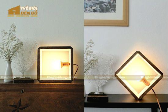 Thế Giới Đèn Gỗ - Thế Giới Đèn Gỗ - Hướng dẫn làm đèn gỗ để bàn cực đơn giản nhưng cực đẹp