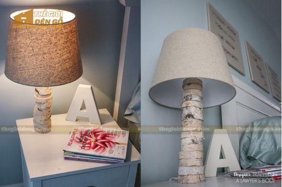 Thế Giới Đèn Gỗ - Hướng dẫn làm đèn gỗ để bàn từ lát gỗ cực đơn giản
