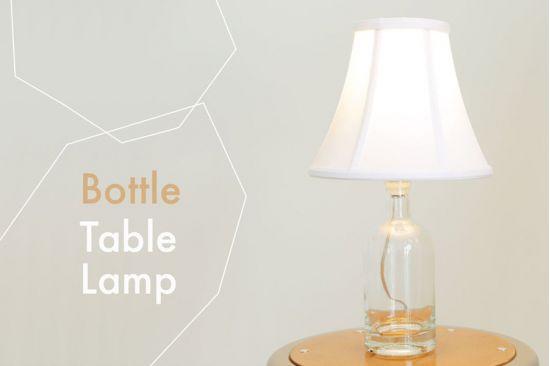 Thế Giới Đèn Gỗ - Hướng dẫn làm đèn trang trí bằng chai thủy tinh