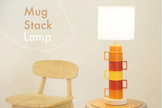 Thế Giới Đèn Gỗ - Hướng dẫn tự làm đèn bàn từ những chiếc ly nhựa cực đẹp