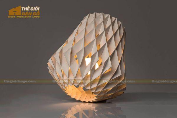 Thế Giới Đèn Gỗ - Đèn gỗ trang trí dg212-2