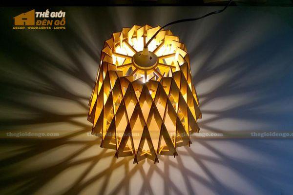 Thế Giới Đèn Gỗ - Đèn gỗ trang trí dg212-3