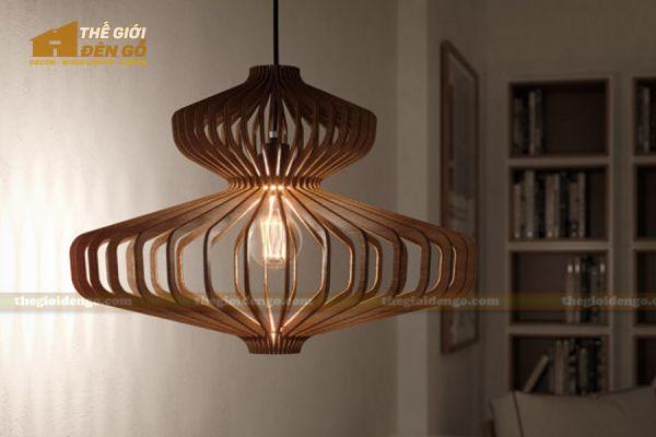 Thế Giới Đèn Gỗ - Đèn gỗ trang trí dg218-1