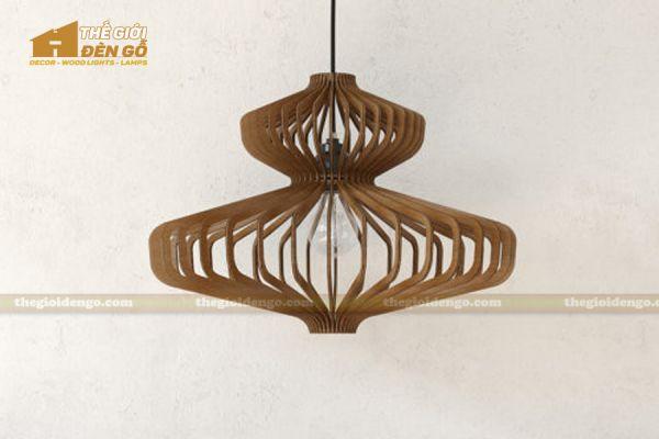 Thế Giới Đèn Gỗ - Đèn gỗ trang trí dg218