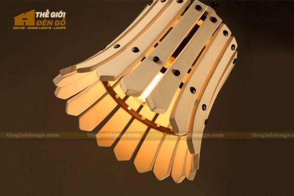 Thế Giới Đèn Gỗ - Đèn gỗ trang trí dg221-1