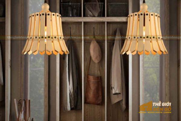 Thế Giới Đèn Gỗ - Đèn gỗ trang trí dg221-5