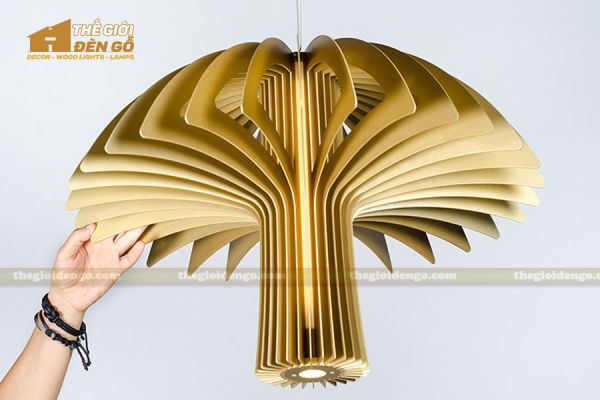 Thế Giới Đèn Gỗ - Đèn gỗ trang trí dg223-1