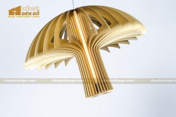Thế Giới Đèn Gỗ - Đèn gỗ trang trí dg223-2