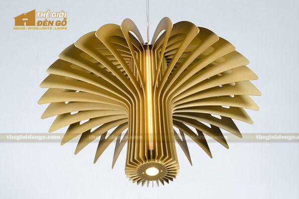 Thế Giới Đèn Gỗ - Đèn gỗ trang trí dg223