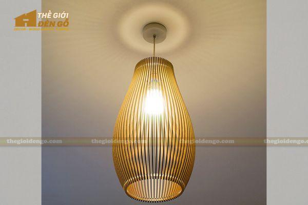 Thế Giới Đèn Gỗ - Đèn gỗ trang trí dg225-1