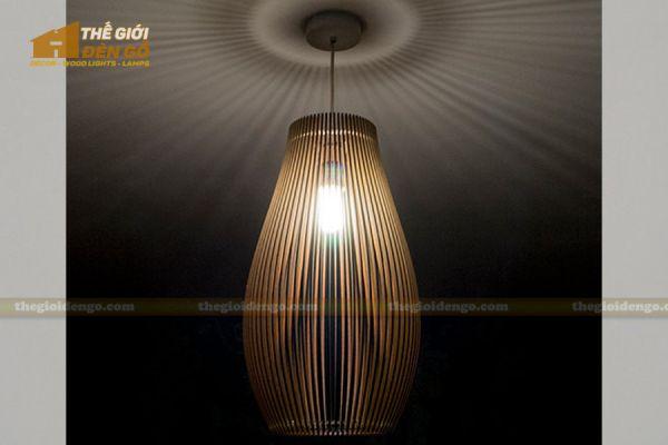 Thế Giới Đèn Gỗ - Đèn gỗ trang trí dg225-3