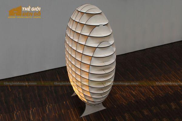 Thế Giới Đèn Gỗ - Đèn gỗ trang trí dg230-1
