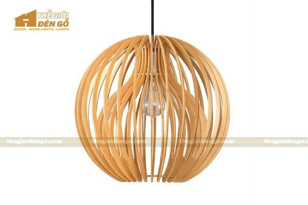 Thế Giới Đèn Gỗ - Đèn gỗ trang trí dg231-1