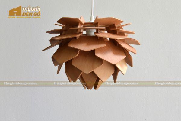 Thế Giới Đèn Gỗ - Đèn gỗ trang trí dg233-3