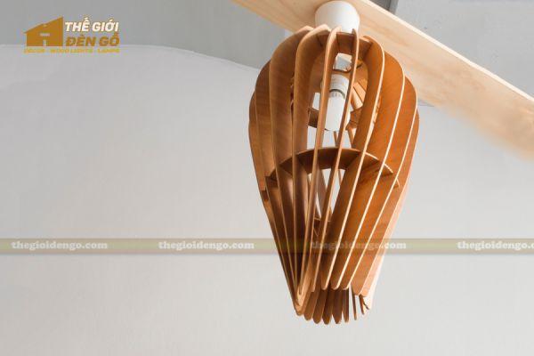 Thế Giới Đèn Gỗ - Đèn gỗ trang trí dg234-1