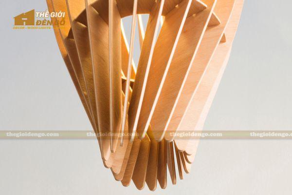 Thế Giới Đèn Gỗ - Đèn gỗ trang trí dg234-2