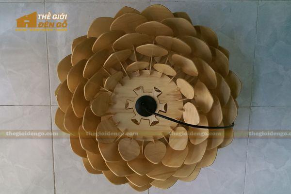 Thế Giới Đèn Gỗ - Đèn gỗ trang trí hoa cúc bất tử 7