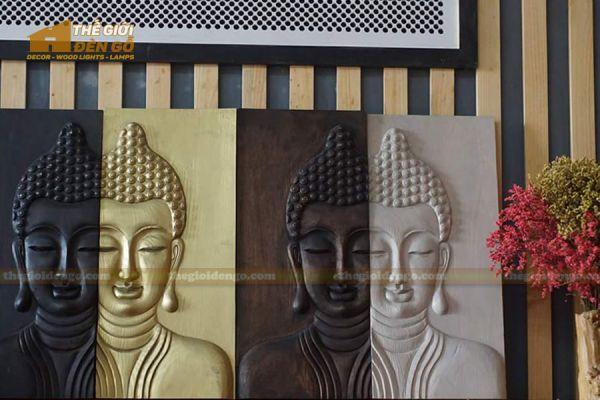 Thế Giới Đèn Gỗ - Tranh gỗ Đức Phật 2