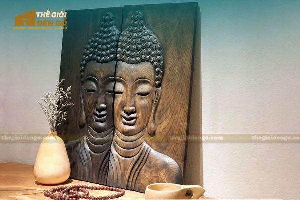 Thế Giới Đèn Gỗ - Tranh gỗ Đức Phật 3