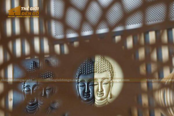 Thế Giới Đèn Gỗ - Tranh gỗ Đức Phật 5