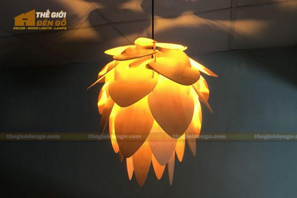 Thế Giới Đèn Gỗ - Đèn gỗ trang trí dg247 - 1