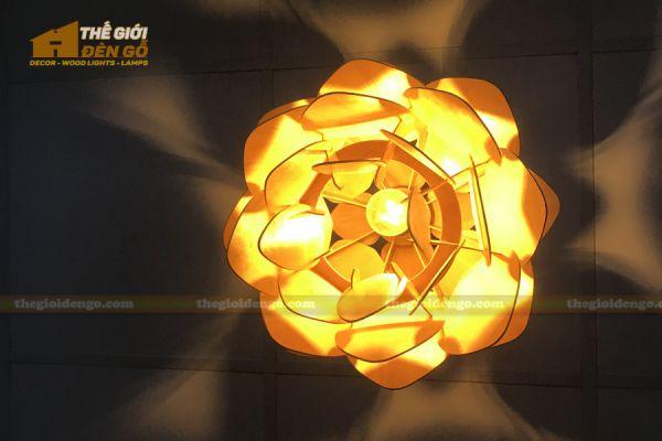 Thế Giới Đèn Gỗ - Đèn gỗ trang trí dg247 - 4