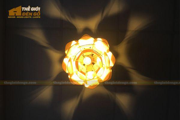 Thế Giới Đèn Gỗ - Đèn gỗ trang trí dg247 - 9