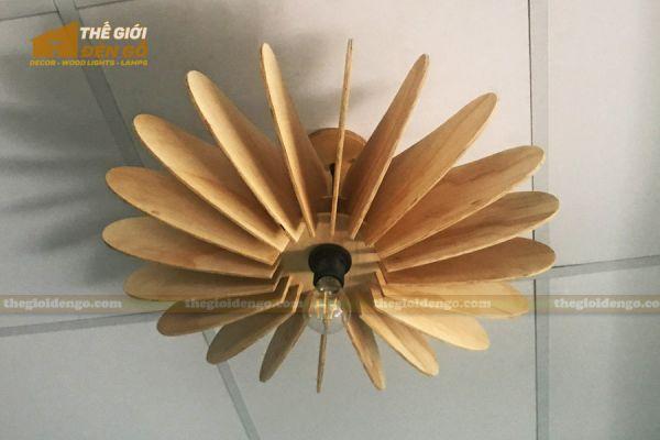Thế Giới Đèn Gỗ - Đèn gỗ trang trí DG266-2