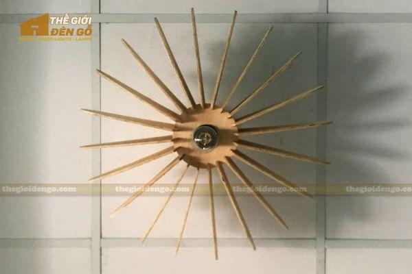 Thế Giới Đèn Gỗ - Đèn gỗ trang trí DG266-3
