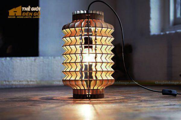 Thế Giới Đèn Gỗ - Đèn gỗ trang trí dg279