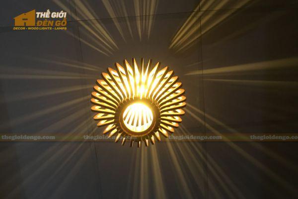 Thế Giới Đèn Gỗ - Đèn gỗ trang trí DG295-4