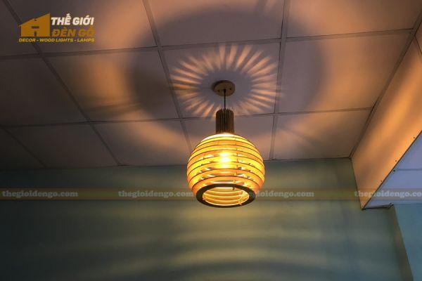 Thế Giới Đèn Gỗ - Đèn gỗ trang trí DG296 - 1