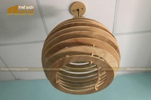 Thế Giới Đèn Gỗ - Đèn gỗ trang trí DG296 - 2