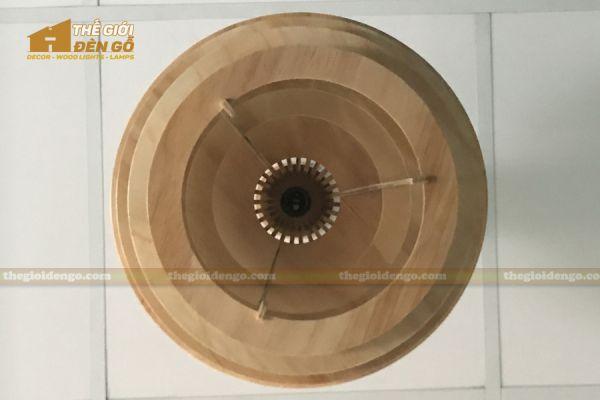 Thế Giới Đèn Gỗ - Đèn gỗ trang trí DG296 - 4