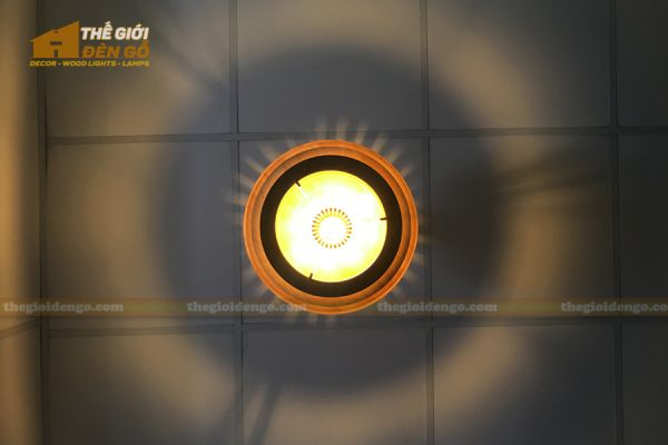 Thế Giới Đèn Gỗ - Đèn gỗ trang trí DG296 - 5