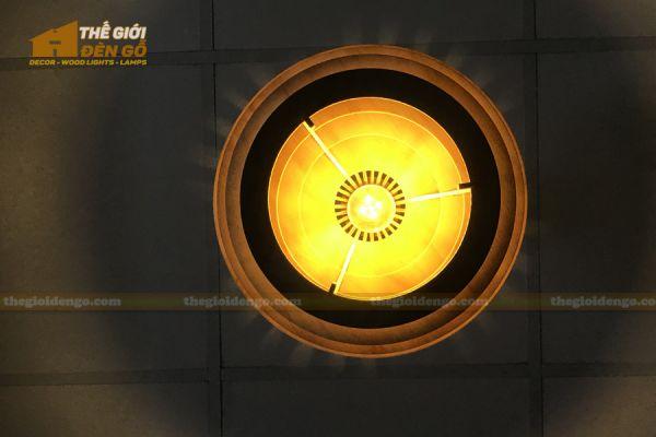 Thế Giới Đèn Gỗ - Đèn gỗ trang trí DG296 - 6