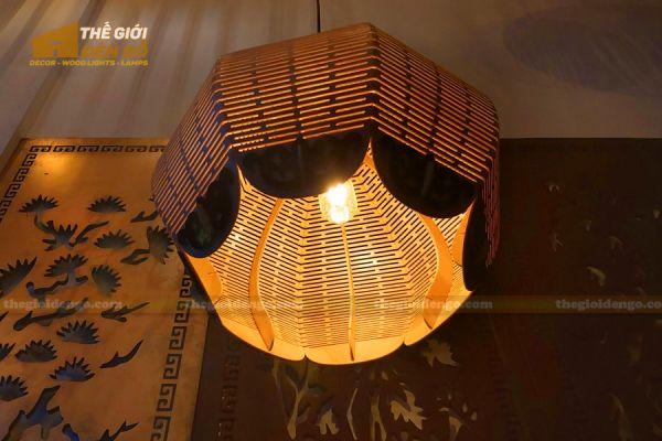 Thế Giới Đèn Gỗ - Đèn gỗ trang trí DG297 - 1