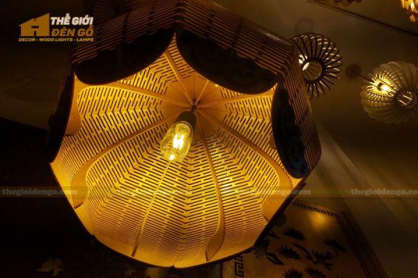 Thế Giới Đèn Gỗ - Đèn gỗ trang trí DG297 - 2
