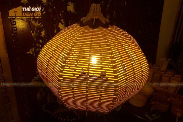 Thế Giới Đèn Gỗ - Đèn gỗ trang trí DG297 - 3
