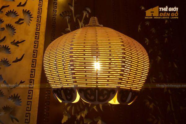 Thế Giới Đèn Gỗ - Đèn gỗ trang trí DG297