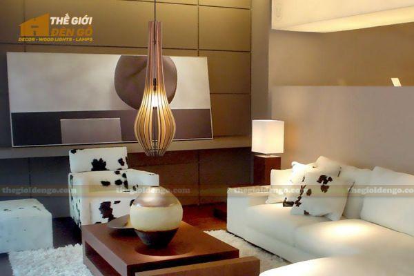 Thế Giới Đèn Gỗ - Đèn gỗ trang trí DG298-1