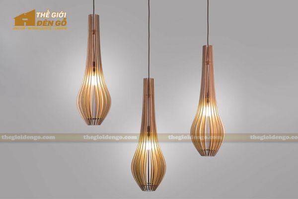 Thế Giới Đèn Gỗ - Đèn gỗ trang trí DG298-2