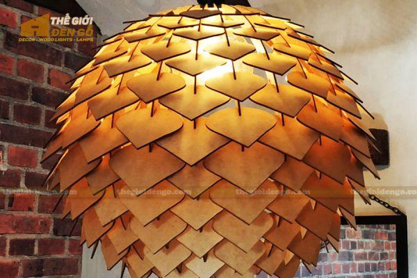 Thế Giới Đèn Gỗ - Đèn gỗ trang trí DG299-2