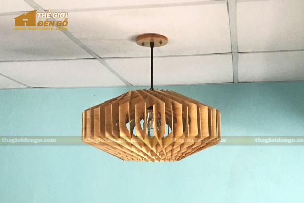 Thế Giới Đèn Gỗ - Đèn gỗ trang trí dg301-1