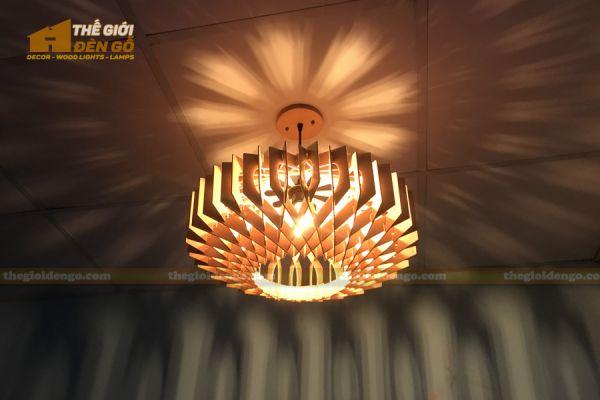 Thế Giới Đèn Gỗ - Đèn gỗ trang trí dg301-2