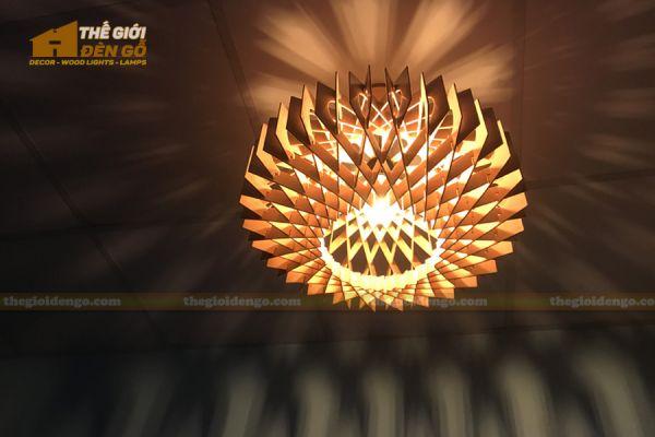 Thế Giới Đèn Gỗ - Đèn gỗ trang trí dg301-4