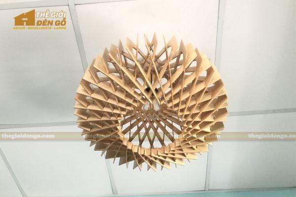 Thế Giới Đèn Gỗ - Đèn gỗ trang trí dg301-5