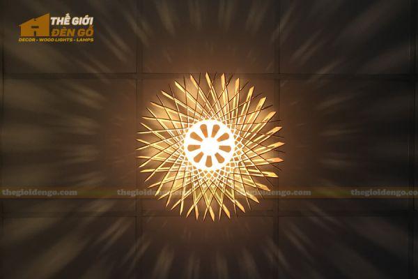Thế Giới Đèn Gỗ - Đèn gỗ trang trí dg301-6