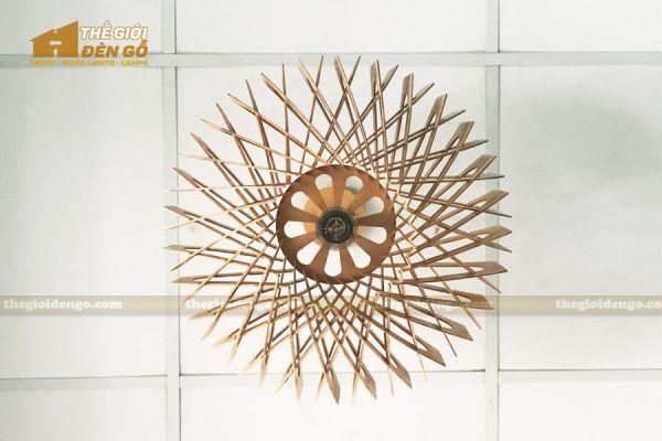Thế Giới Đèn Gỗ - Đèn gỗ trang trí dg301-7