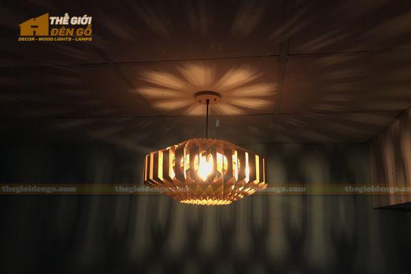 Thế Giới Đèn Gỗ - Đèn gỗ trang trí dg301
